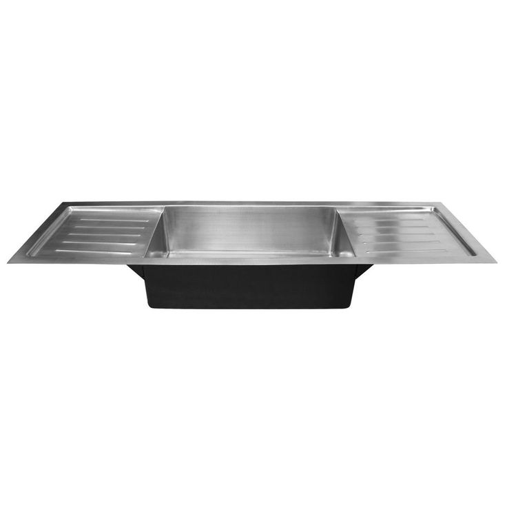 72 Quot Trenton Stainless Steel Sink With Dual Drain Boards