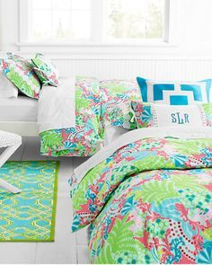 72 best Lilly Pulitzer bedroom!!!! images on Pinterest | Bedroom ...