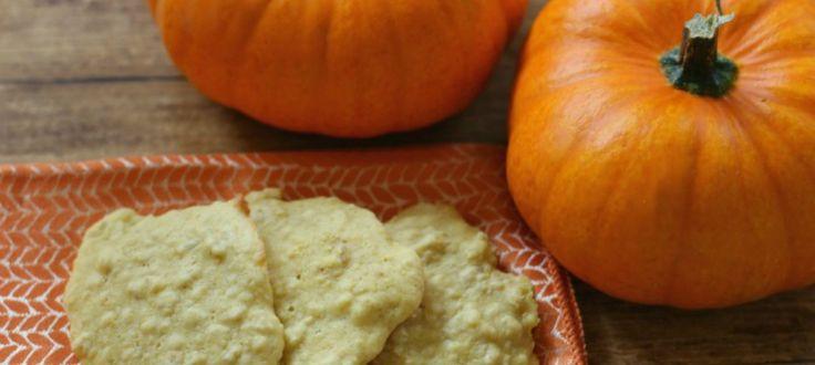 Biscuits à la citrouille et à l'avoine