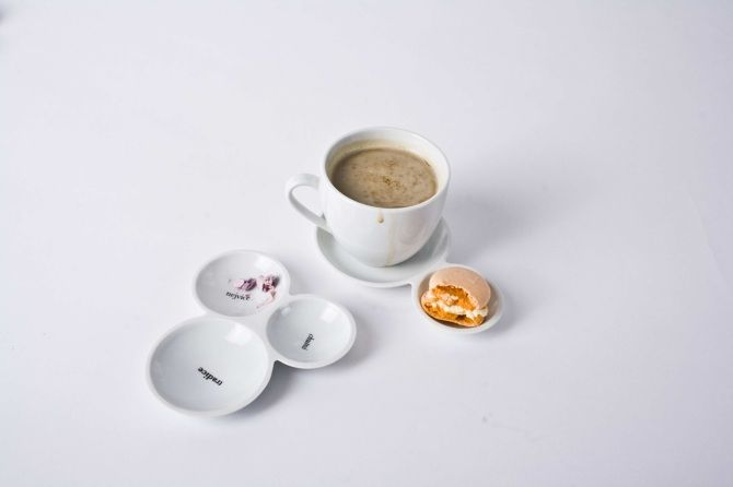 Talířky na cukrovinky - NALEJTO ceramic design
