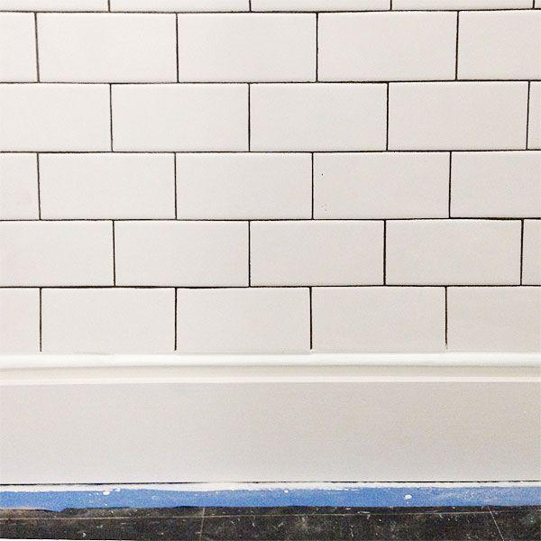 Subway Tile Kitchen Dark Grout: 17 Best Images About Subway Tile Grout On Pinterest