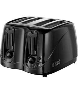 Russell Hobbs 14340 4 Slice Essentials Toaster - Black.