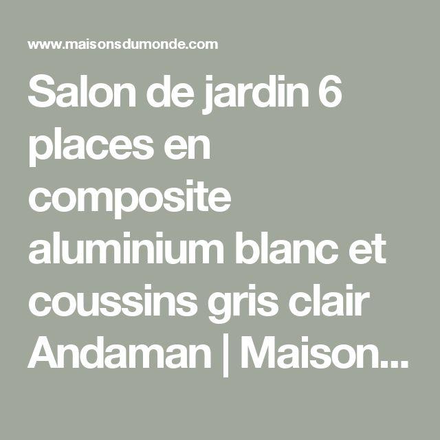 Die 25+ besten Salon de jardin gris Ideen auf Pinterest | Graue ...