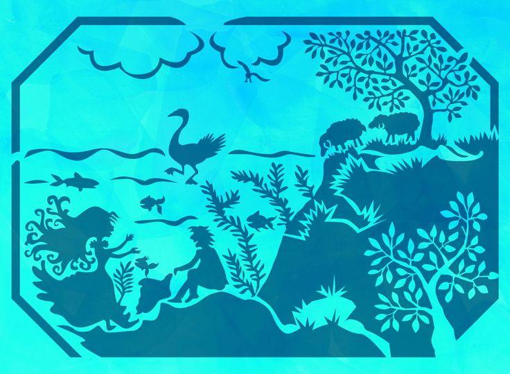 Fresh Wandschablone Kinderzimmer Am See Malerschablone wiederverwendbare Tupfschablone abwaschbar Individuelle Wandschablonen f r Ihre Wandgestaltung