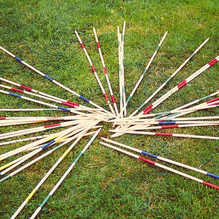 Traditional Garden Games Giant Pick Up Sticks