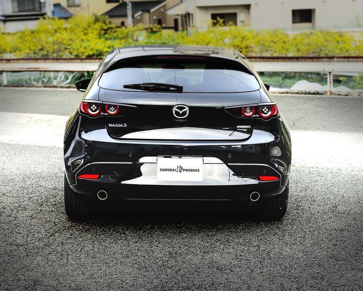 Mazda3 リアバンパーガーニッシュ 鏡面仕上げ 2p マツダ3 Bp系 Fastback専用 高品質ステンレス製 マツダ3 ファストバック アクセサリー マツダ3 マツダ エアロ
