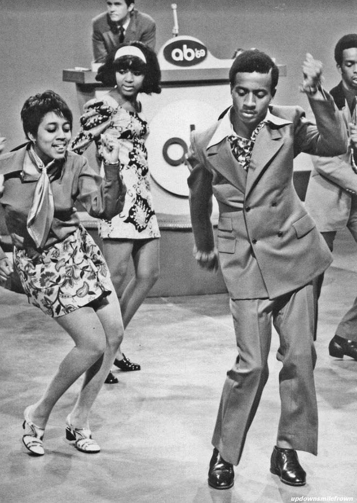 American Bandstand with Dick Clark, 1960s.  Remember when?
