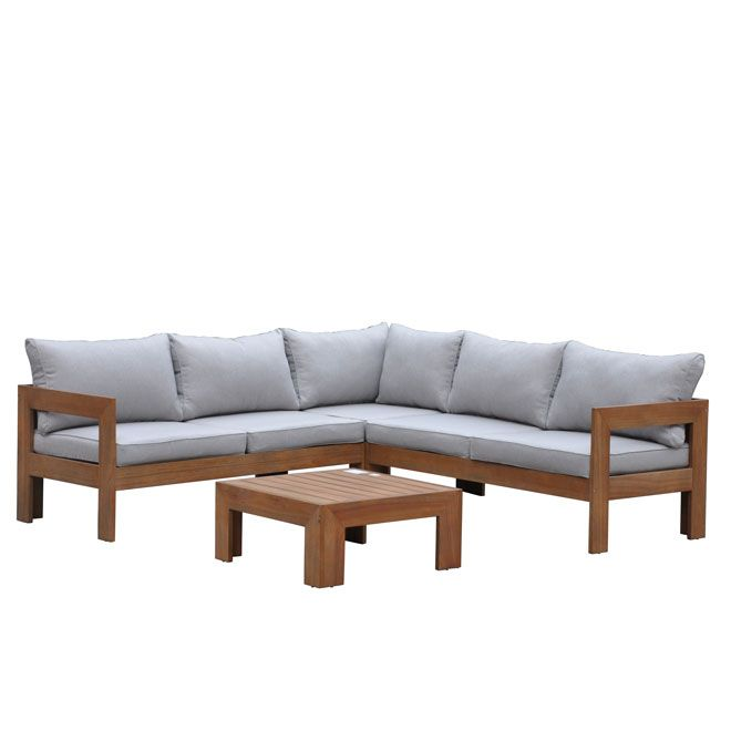 Sectional - 4-Piece  Milano  Sectional Set  sc 1 st  Pinterest : sectional patio furniture canada - Sectionals, Sofas & Couches