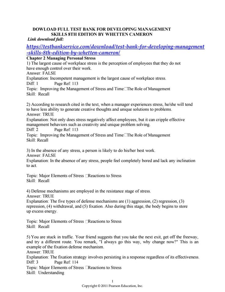 25 best test bank issuu images on pinterest test bank for developing management skills 8th edition by whetten cameron fandeluxe Images