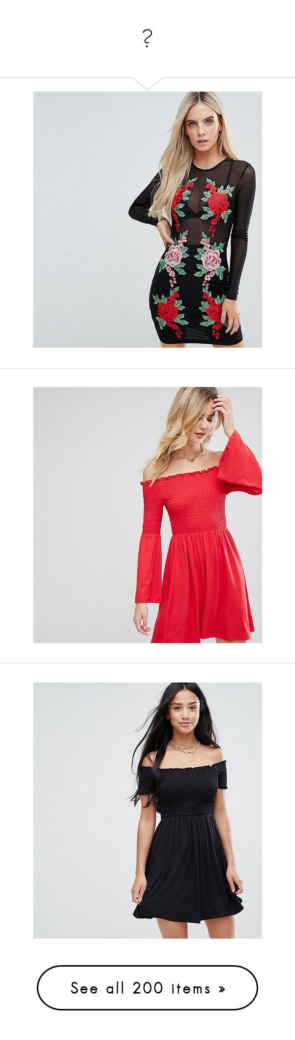 """""""👗"""" by theowneroftheelderwand ❤ liked on Polyvore featuring dresses, black, petite cocktail dress, bodycon party dresses, body con dress, mesh bodycon dresses, petite party dresses, red, short red dress and red ruched dress"""
