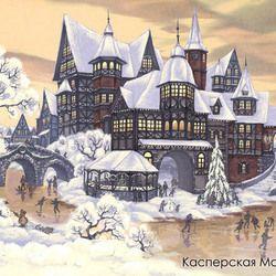Новый год (Зимний пейзаж)
