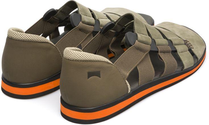 Camper Spray Green Sandals