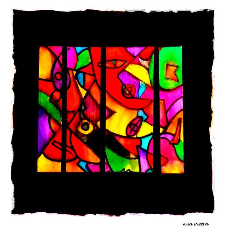 Abstracto Tinta