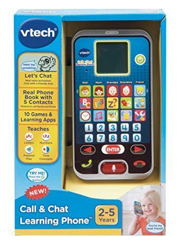 Learning Phone For Kids Toddler Baby Educational Child First SmartPhone New #VTech