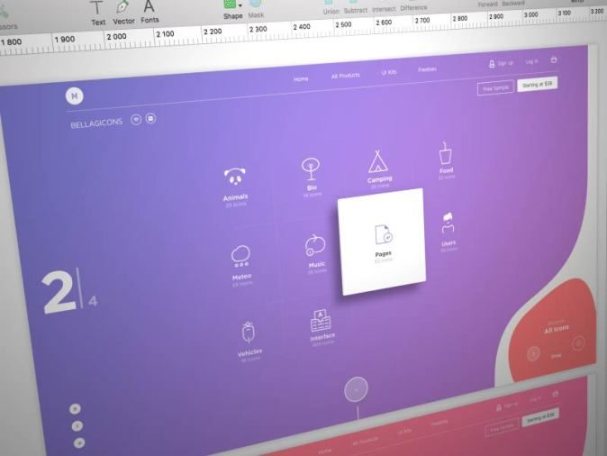 Inspirational UI Design 25 | UltraLinx