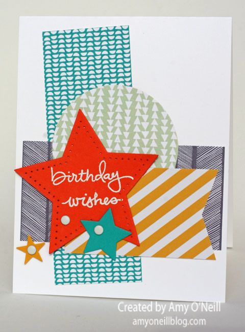 Endless Birthday Wishes: Busybirthdaystarsjpg 480648, Cards Ideas, Cards Birthday, Birthday Wish, Stampin Up, Birthday Stars Endless, Endless Birthday, Busybirthdaystar Jpg 480 648, Business Birthday Stars Jpg