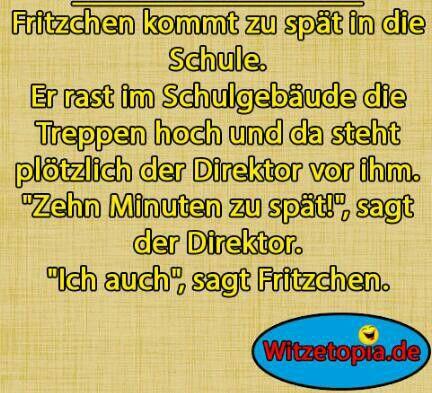Fritzchen Witze  - www.Witzetopia.de