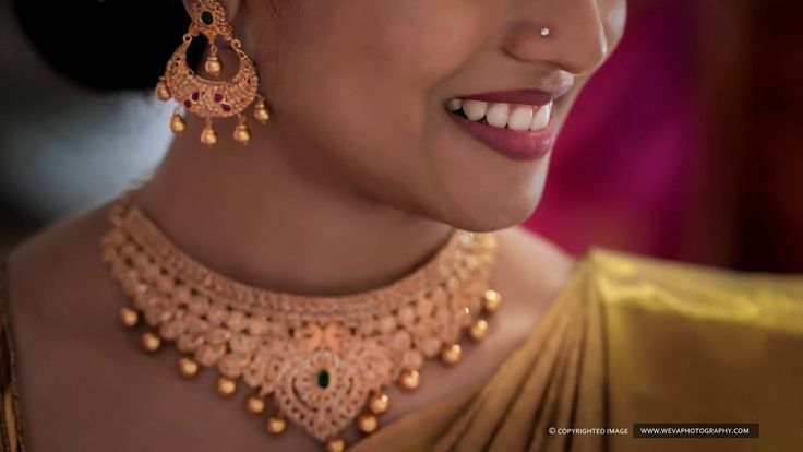 Her charming nose ring has some magnetizing power to catch your heart 😊 #bridalaccessories #bridesfashion #gorgeous #cutebride #nosering