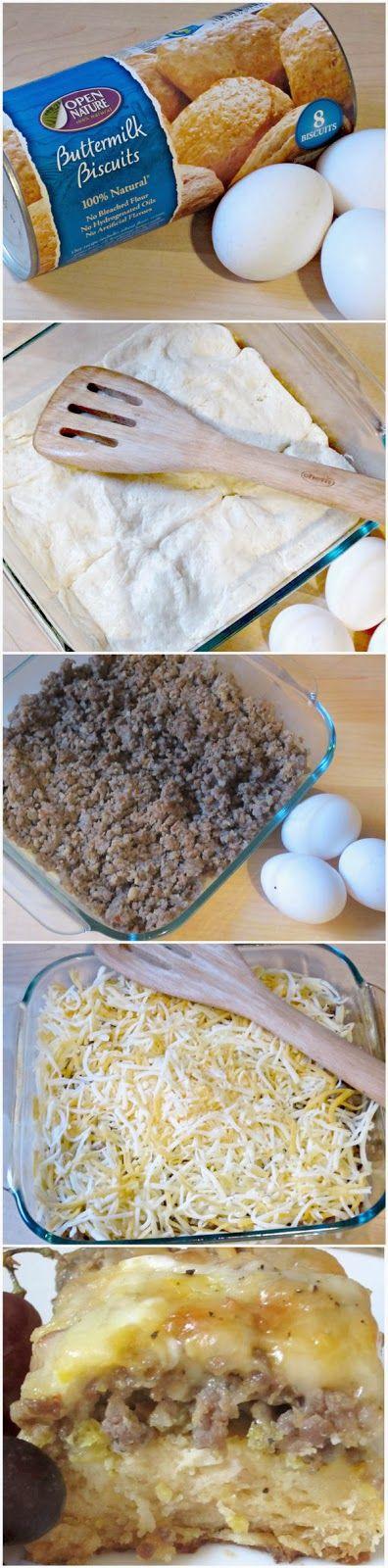 Recipe Favorite: Weekend Biscuit Egg Casserole