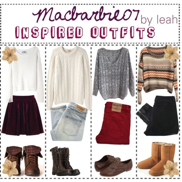 MacBarbie07 Inspired Outfits