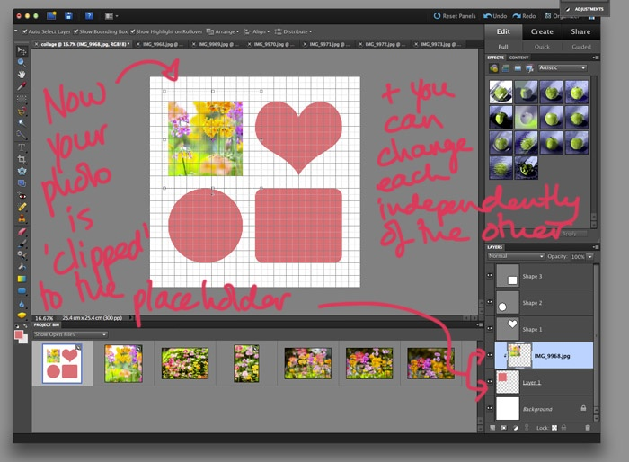 how to make precise guides photoshop