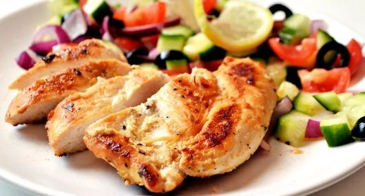 Joghurtos-citromos csirkemell recept