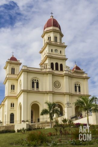 Church of Our Virgin of El Cobre, Sierra Maestra, Cuba, West Indies, Caribbean, Central America Photographic Print by Rolf Richardson at Art.com