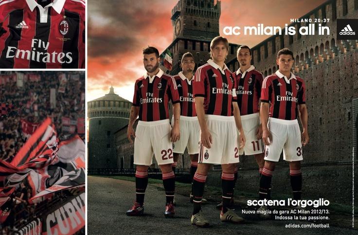 ADIDAS - MILAN MAGLIA UFFICIALE 2012-13