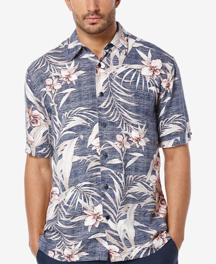 Cubavera Men s Tropical-Print Short-Sleeve Shirt · Camisas De Manga CurtaCalções  ... 6bd840bb7a52a