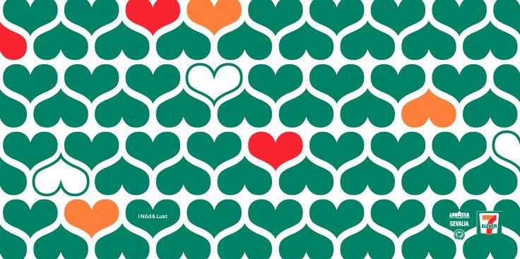 Svensson Kommunikation - Love pattern Client: 7-Eleven