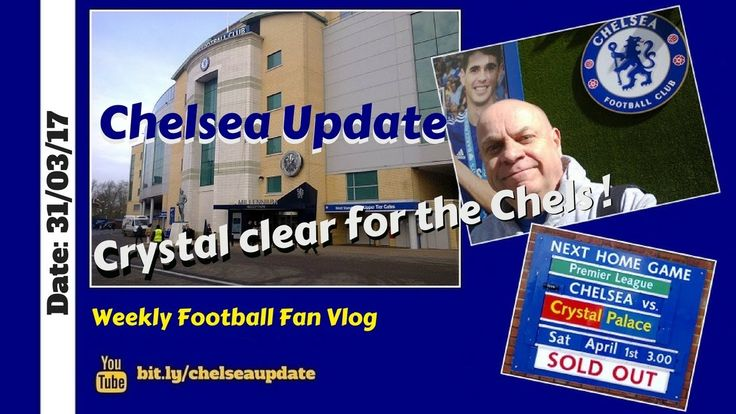 Crystal clear to the Chels ! (Preview: Chelsea v Crystal Palace)