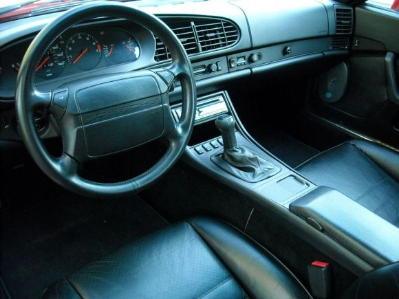 1989 Porsche 944 S2 Red Survivor For Sale Interior