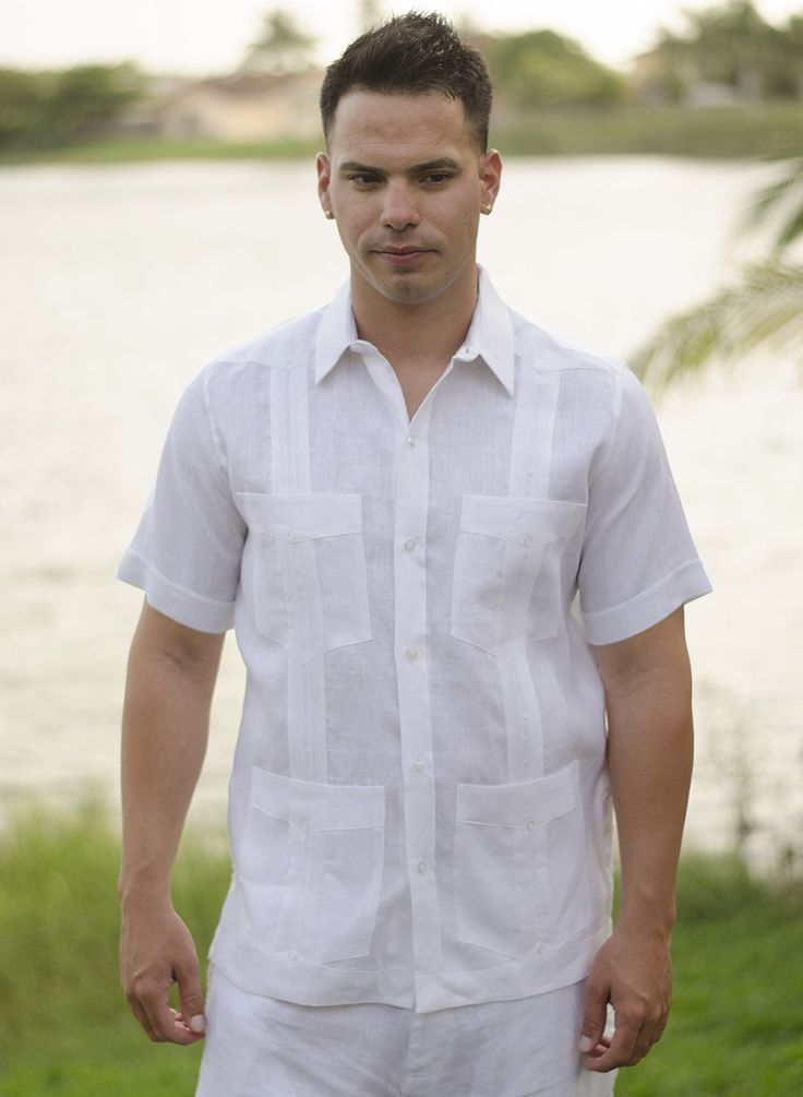 Guayabera Short Sleeve For Men