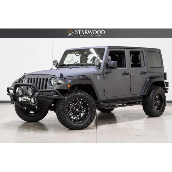 Starwood Motors 2017 Jeep Wrangler Unlimited Sport Jeep Wrangler 2017 Jeep Wrangler Unlimited 2017 Jeep Wrangler