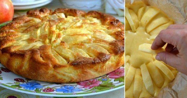 Chcete si po obede k nedeľnej kávičke dať niečo sladké, ale pri tom nestráviť hodiny v kuchyni? Potom vyskúšajte tento rýchly taliansky jablkový koláč!