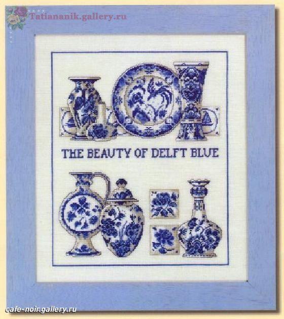 Gallery.ru / Фото #1 - Синяя посуда - Tatiananik