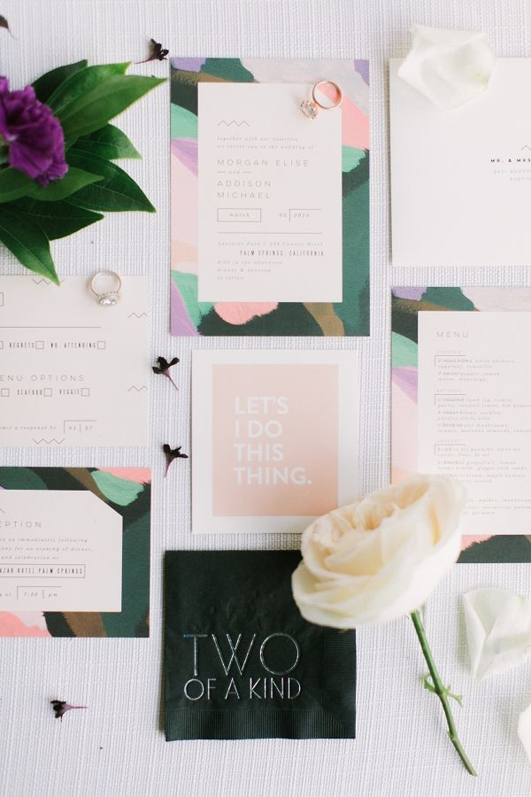 Minted Modern Stationery Suite | Alea Lovely