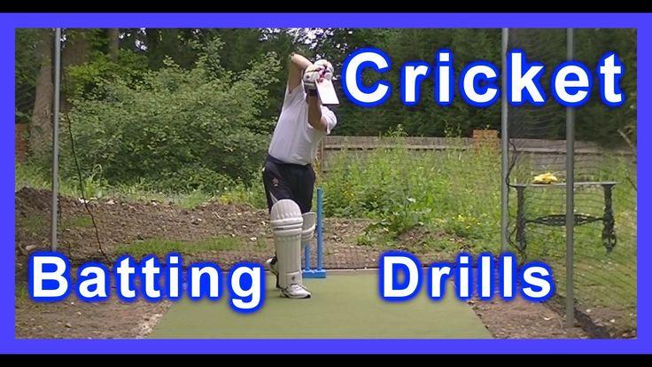 Left Hand HD Cricket Coaching Batting Drills/Training/Practice Off & Str...