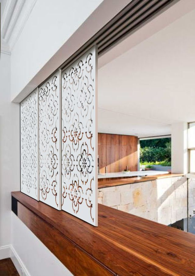 The DecoGlide has many applications, including wall divider and partition. This one is the Timeless in a Two Pack Paint Finished Timber. When re-pinning please mention source: www.twentysixletters.com.au
