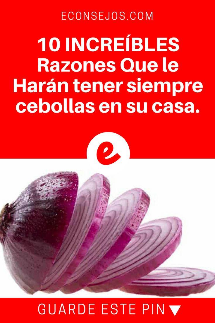 Cebollas beneficios   10 INCREÍBLES Razones Que le Harán tener siempre cebollas en su casa.    ¡Depurador de riñones, erupciones cutáneas y mucho más... Además aprenderá una deliciosa video-receta que compartimos para aprovechar sus beneficios al máximo.
