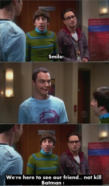 Smile!    Big Bang Theory