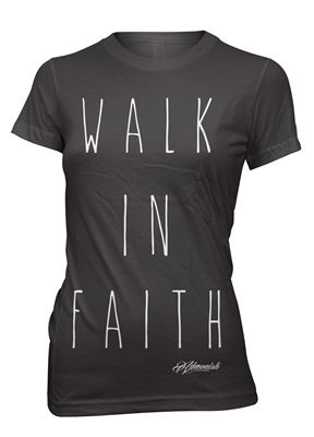 """""""We reach toward the unknown, but faith lights the way. If we will cultivate that faith, we shall never walk in darkness."""" admonishclothing.com"""