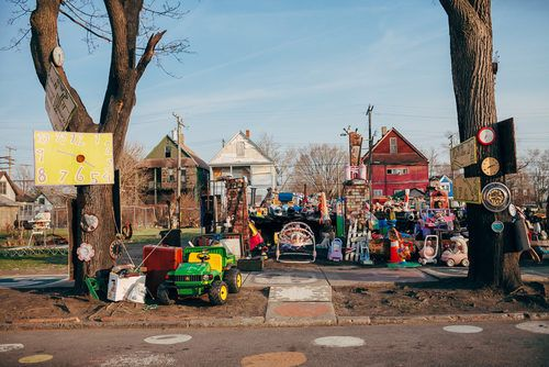 The Charred Heidelberg Project Still Has Plenty of Impact - Photo Tours - Curbed Detroit