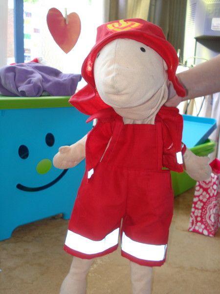 Mijn Paradijsje: klaspop een andere versie van een brandweerpak voor Jules : mooi !