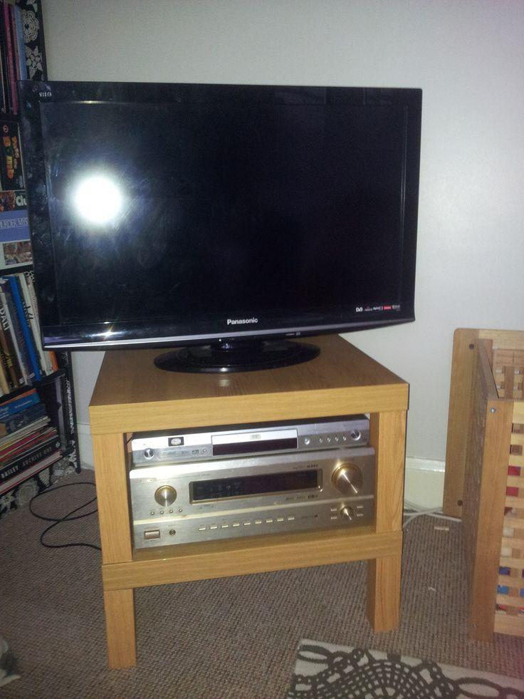 1000 ideas about lack table on pinterest lack table - Mesa tv ikea lack ...