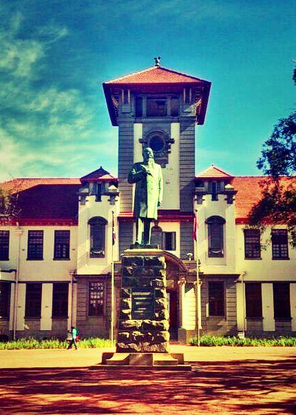 Main Building. UFS.