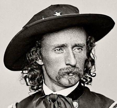 Tipos de bigote - con perilla - General George Armstrong Custer. Charlie Bowdre, compañero de Billy the Kid, llevaba uno similar.