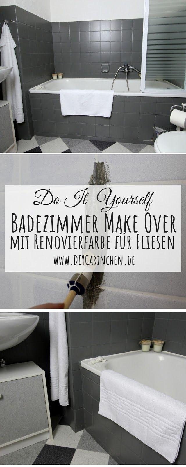 Diy Badezimmer Streichen Und Renovieren Mit Fliesenfarbe Badezimmer Streichen Fliesenfarbe Badezimmer Renovieren