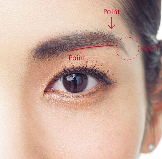 アラフォー女子は即、実践!今年の眉はどう違う?「太めキープ!凛とカーブのある眉」Marisol ONLINE|女っぷり上々!40代をもっとキレイに。