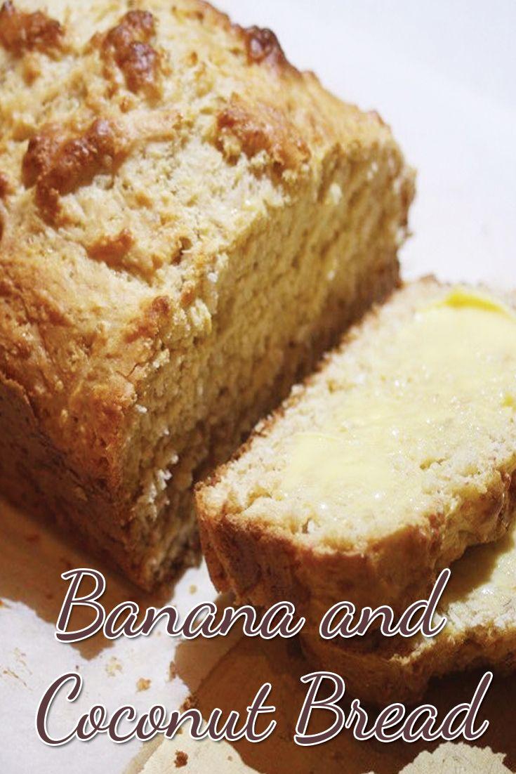 Banana and Coconut Bread